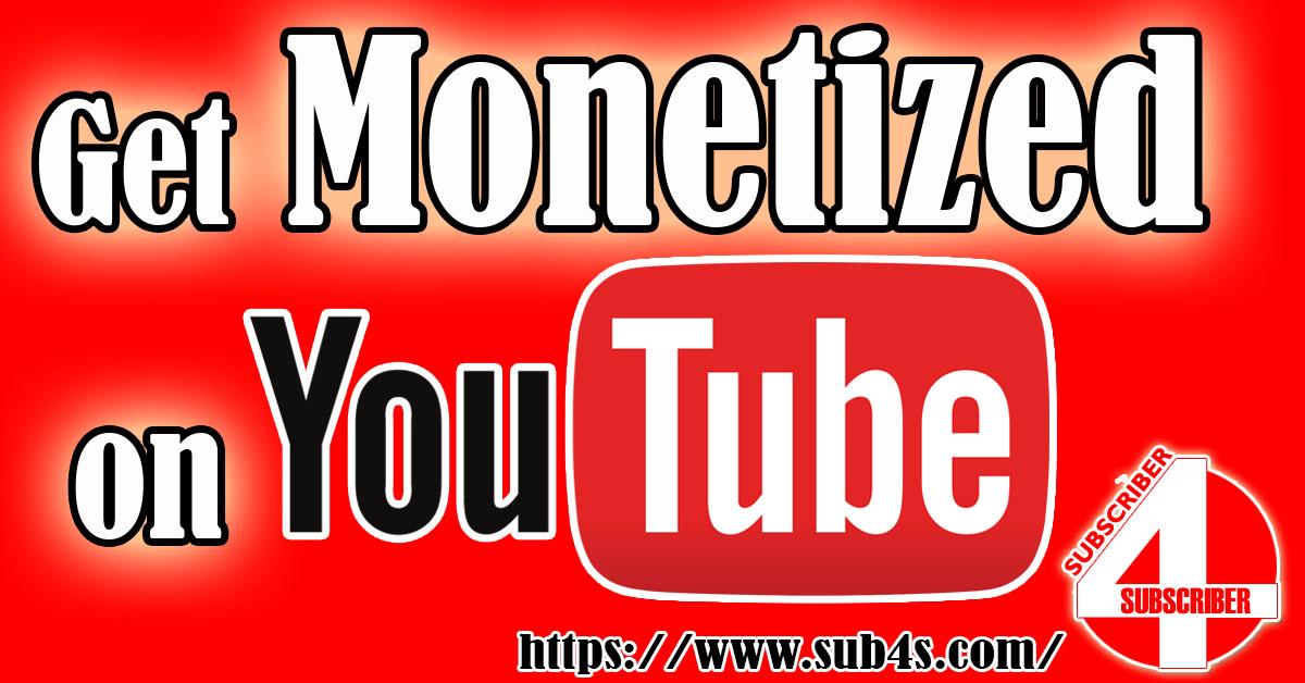 Start Earning on YouTube. Monetize your channel now!