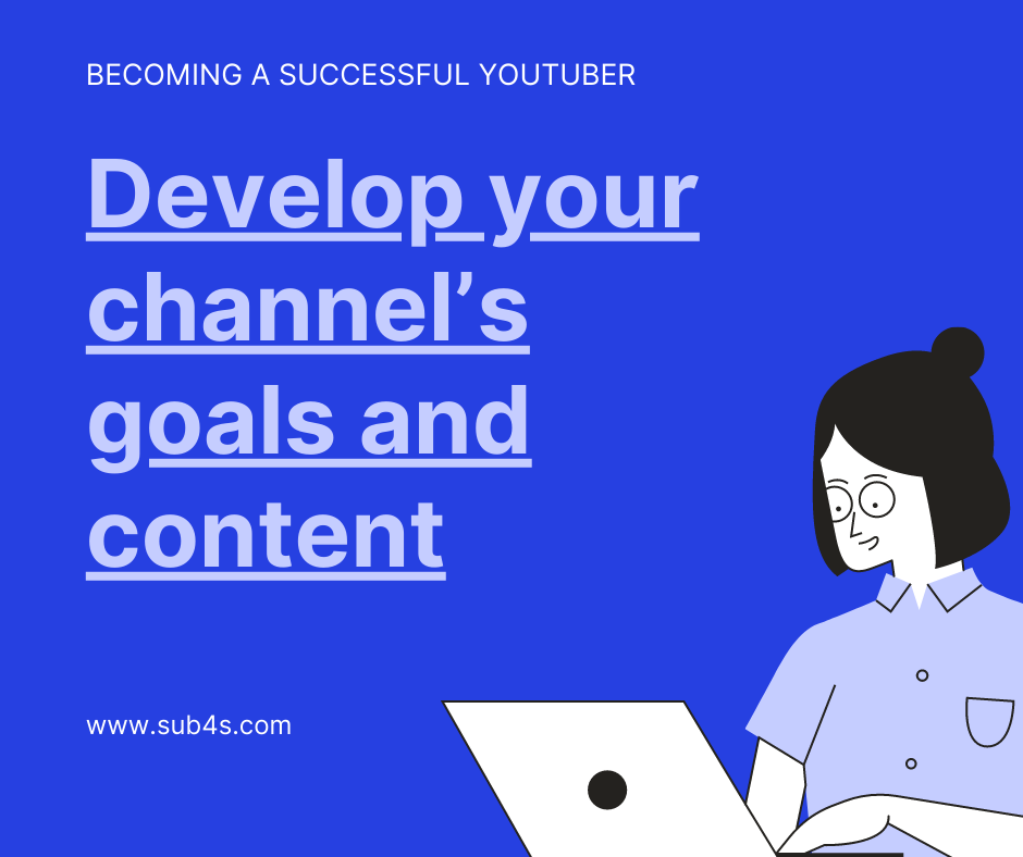 [Becoming a Successful YouTuber] Develop your channel's goals and content